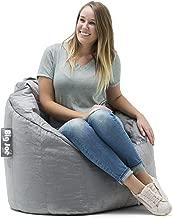 Big Joe Milano Bean Bag Chair, Gray Plush - 32