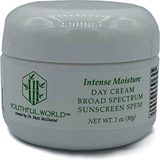 YOUTHFUL.WORLD Intense Moisture Day Cream with Broad Spectrum Sunscreen SPF30 (Created by Dr. Matt McDaniel)
