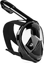 ماسک Snorkel DIVELUX - ماسک Snorkeling و ماسک غواصی Full Face با 180 درجه چشم انداز پانورامیک - لوله تهویه بلند، ضد آب، ضد مه و فناوری ضد لکه برای بزرگسالان و کودکان
