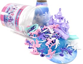 Sunny Days Entertainment Maxx Action Sparkle Dreamland Toy Unicorn Figures with Fairies, Dragons, Castles and Storage Container