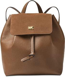 MICHAEL Michael Kors Womens Junie Leather Drawstring Backpack