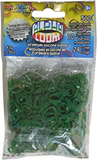 Rainbow Loom Alpha Bands Craft Accessory, Dark Green