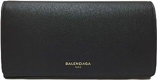 [バレンシアガ] BALENCIAGA 財布 メンズ レディース 二つ折長財布 490624 DLK0N 1000 レザー ブラック [並行輸入品]