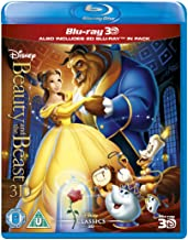 Beauty And The Beast [Blu-ray 3D + Blu-ray 2D] [Region Free]