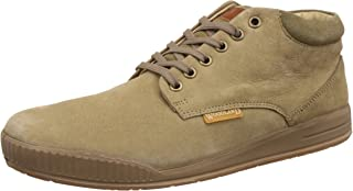 Woodland Men's Leather Casual Sneakers