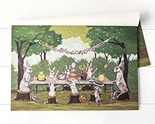 Hester and Cook Paper Placemat - Pad of 24 - Spring Social