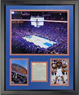 Legends Never Die Oklahoma City Thunder - Chesapeake Arena Framed Photo Collage, 16