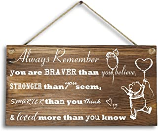 Best winnie the pooh quote signs Reviews
