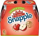 Snapple Apple, 16 fl oz glass bottles, 6 count