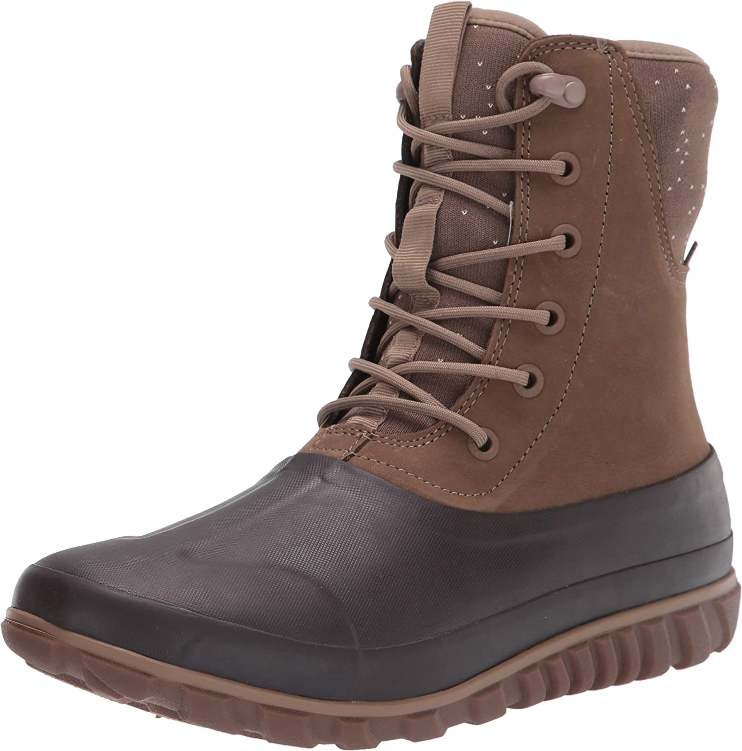 BOGS Women's Classic Casual Lace Leather Snow Boot