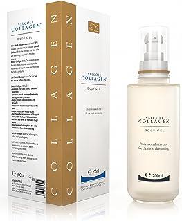SalColl Collagen Anti-Cellulite Body Gel - Natural Marine Collagen Formula, Varicose Vein, Scar & Stretch Mark Treatment, ...