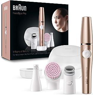 Braun FaceSpa Pro 921 - Depiladora Facial TodoenUno para Mujer, Incluido un Cepillo de Limpieza Suave y Depiladora Facia...