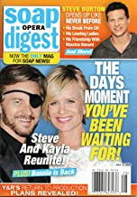 Soap Opera Digest Magazine July 13 2020 Stephen Nichols Mary Beth Evans Days of Our Lives Steve Burton