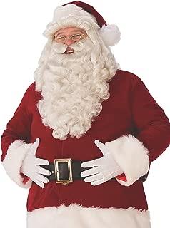 Mens Ultra Premium Santa Beard and Wig