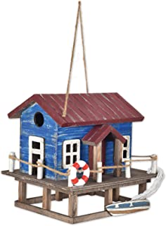 Sunset Vista Designs BPS-24 Decorative and Functional Outdoor Birdhouse, Beach