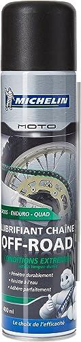 "Michelin 008806"" Moto Lubrifiant Chaîne Off-Road, 400 ml"