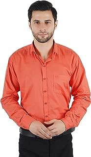 JASOOS Men's 100% Cotton Formal Shirt
