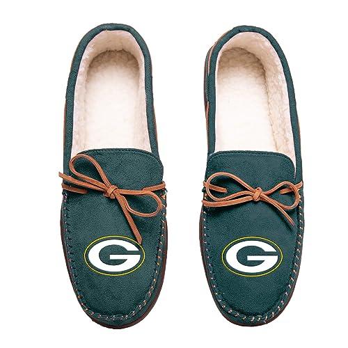 Green Bay Packers 2011 Big Logo Men Slipper Tpr Sole Small