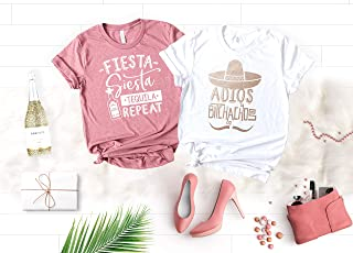 019a92961b09 Fiesta Bachelorette Party Shirts, Funny Cinco de Mayo Shirts for Bride and  Bridesmaids, Mexico