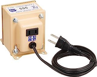 日章工業 変圧器 海外 普及型 AC110V~AC127V→AC100V 550W NDFシリーズ NDF-550U