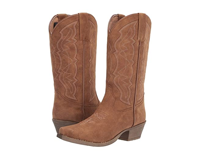 Kyla  Shoes (Tan) Cowboy Boots
