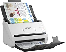 $449 » Epson DS-530 II Color Duplex Document Scanner for PC and Mac with Sheet-fed, Auto Document Feeder (ADF)