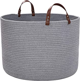 Best large braided baskets Reviews