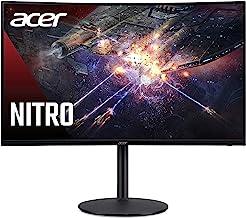 "Acer Nitro XZ320Q Xbmiiphx 31.5"" 1500R Curved Full HD (1920 x 1080) VA Zero-Frame Gaming Monitor with Adaptive-Sync Techno..."