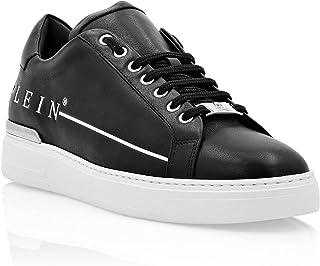 Philipp Plein Herren Lo-Top Sneakers Istitutional Schwarz 42