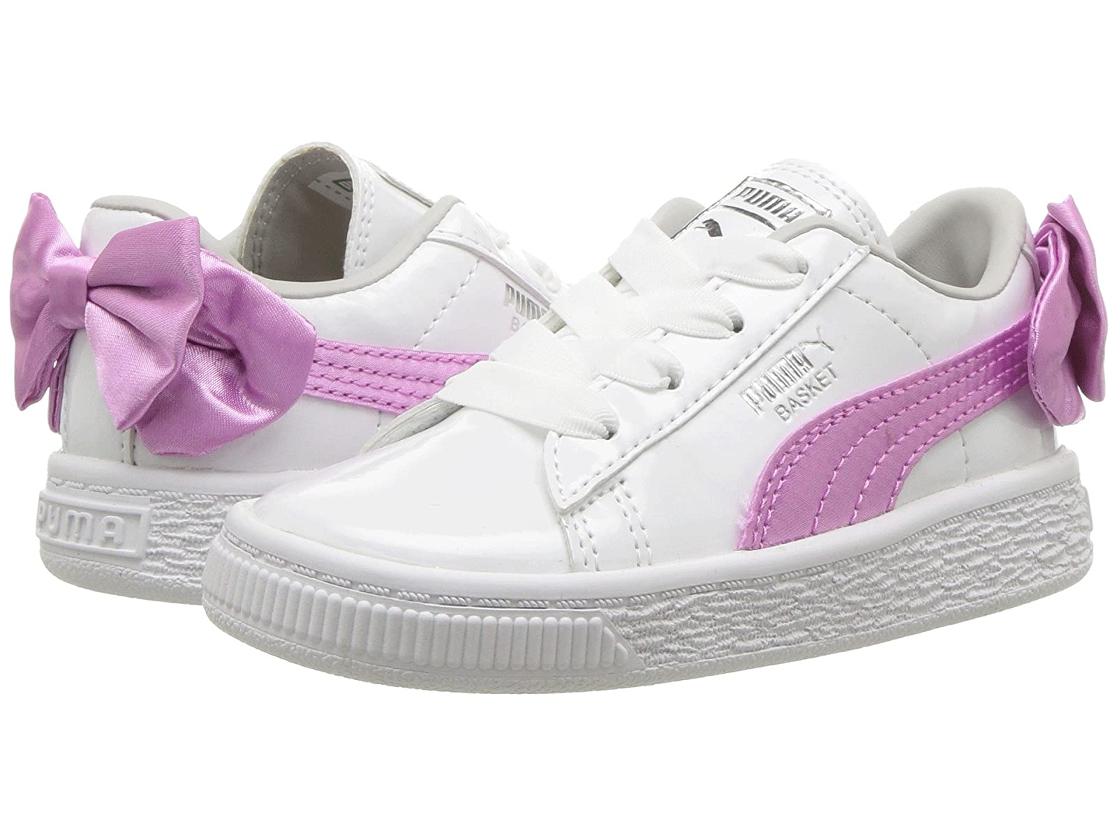 Puma Kids Basket Bow Patent AC (Toddler)Atmospheric grades have affordable shoes