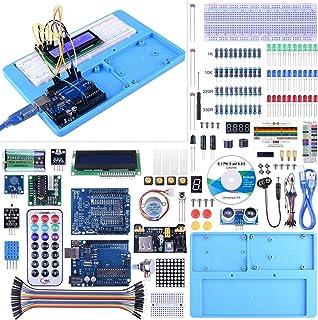 Kit Compatible con ArduiIDE, UNIROI Kit de Iniciación Completo con Tutorial para Principantes a Aprender Programación (UA005)
