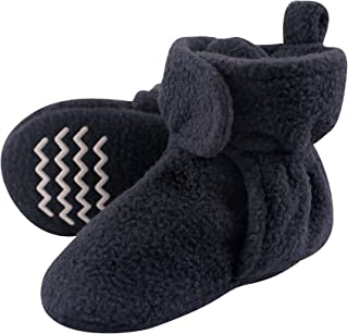 Unisex Baby Cozy Fleece Booties with Non Skid Bottom