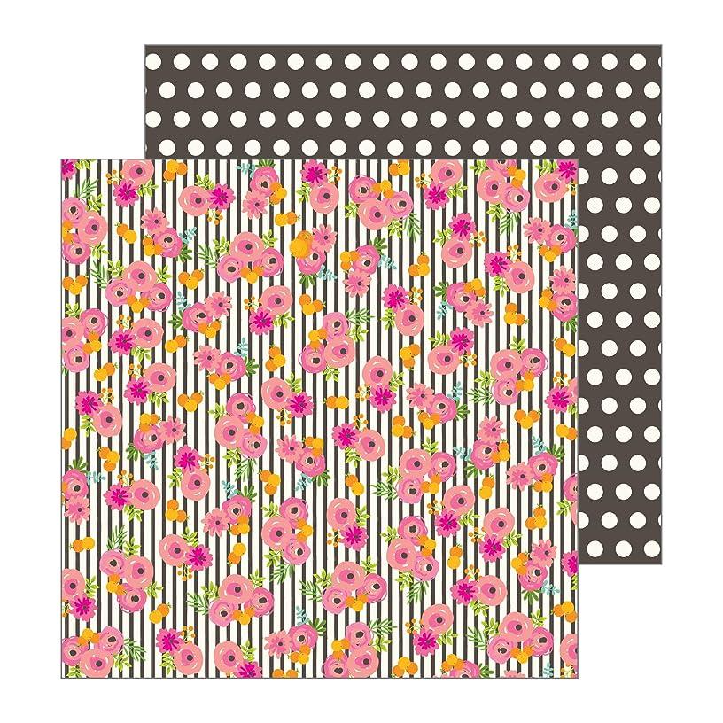 Jen Hadfield 733046 Tablescape Patterned Paper, Pink