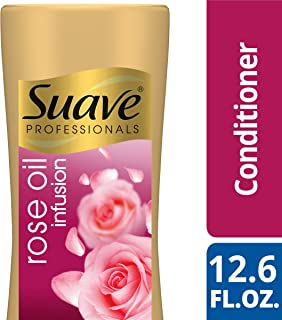 SUAVE HAIR Professionals Rose Oil Infusion Conditioner, 12.6 Ounce