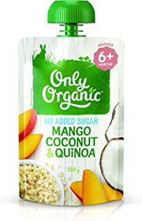 Only Organic Mango Coconut & Quinoa 6+ Months - 120g