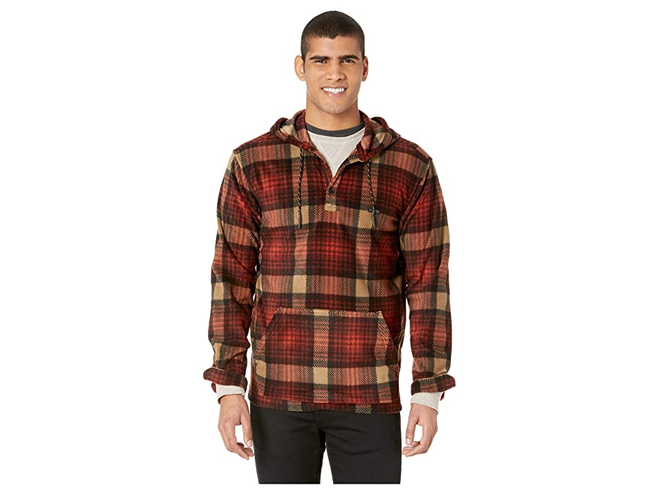 Billabong Furnace Anorak Long Sleeve (Maroon) Men