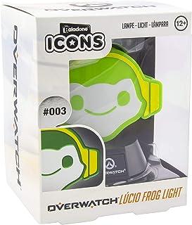 Paladone Overwatch Icon Light | Coleccionable Lucio Lámpara | Ideal para dormitorios de niños, Oficina y hogar | Pop Cultu...