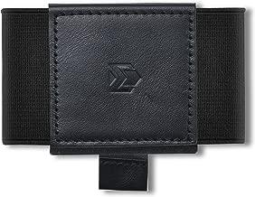 Minimalist Slim Wallet For Men Women - Elastic Thin Front Pocket Credit Card Holder