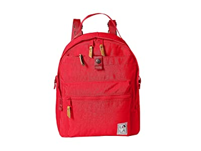 LOLA Escapist Large Backpack (Tomato) Backpack Bags