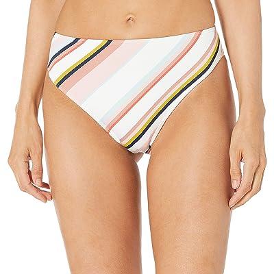 Roxy Print Beach Classics High Waisted High Leg Swim Bottom