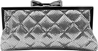 La Regale Women's Quilted Chainmail Clutch