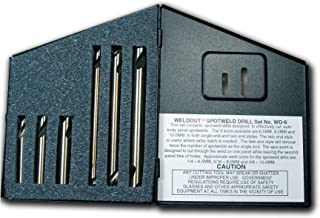 Viking Drill and Tool 37671 Twin End Type 187 Gold Cobalt Spot-Weld Drill Bit 8mm//3.62 5 Pack