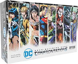 DC Deck-Building Game: Confrontations - Exciting 2v2 Format - Eight Iconic DC Characters to Play - Standalone, Compatible with Full DC Deck-Building Game Series