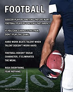 Best sayings for posters for football games Reviews