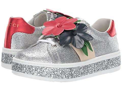 Gucci Kids Ace Flower Girl Sneaker (Little Kid)