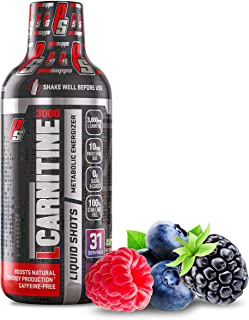 ProSupps L-Carnitine 3000 Stimulant Free Liquid Shots for Men and Women - Metabolic Energizer and Fat Burner Workout Drink...