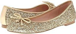 Gold Glitter/Gold Metallic Nappa
