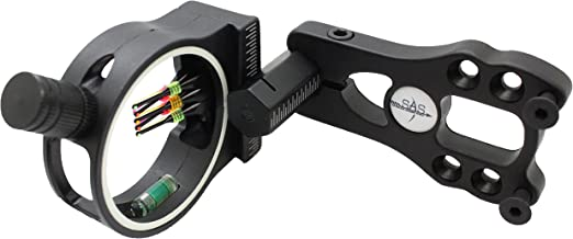 Southland Archery Supply SAS 5-Pin .029 Fiber Optics Bow Sight with LED Sight Light