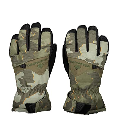 Obermeyer Kids Lava Gloves (Little Kids/Big Kids) (Bootcamp Camo) Extreme Cold Weather Gloves