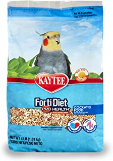 Kaytee Forti-Diet Pro Health Cockatiel Food with Safflower